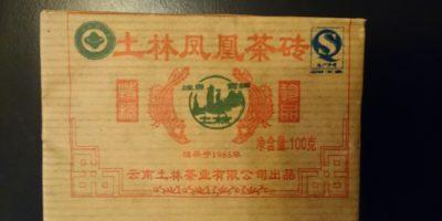 *2012* NanJian Shu Pu-Erh (reifer) Mini Teeziegel, 100g