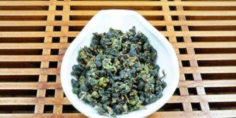 Kugelblättrige Milch Oolong-Teeblätter