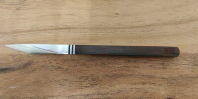 Scharfes Pu-Erh Tee Messer mit Etui